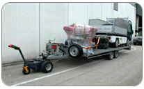 Trailer trolley for trailers.