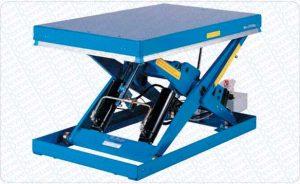 Mesa Elevadora Color Azul