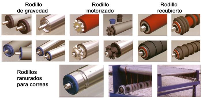 Rodillos para cintas transportadoras madrid