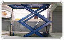 Mesa elevadora montacarga
