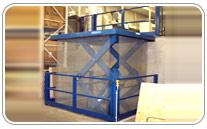mesa elevadora seguridad