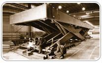 Mesa elevadora de gran tonelaje