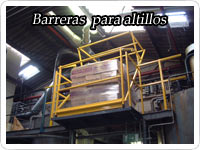 barreras para altillos