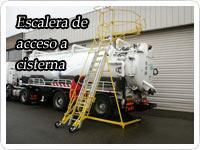 escaleras de acceso a cisternas