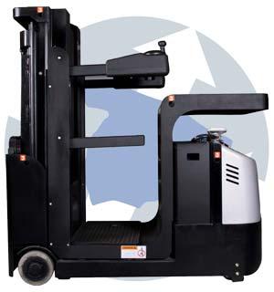 recoge pedidos de 500 kgs de capacidad, elevación a 4100mm más el operario. Para elevacion de operario y carga