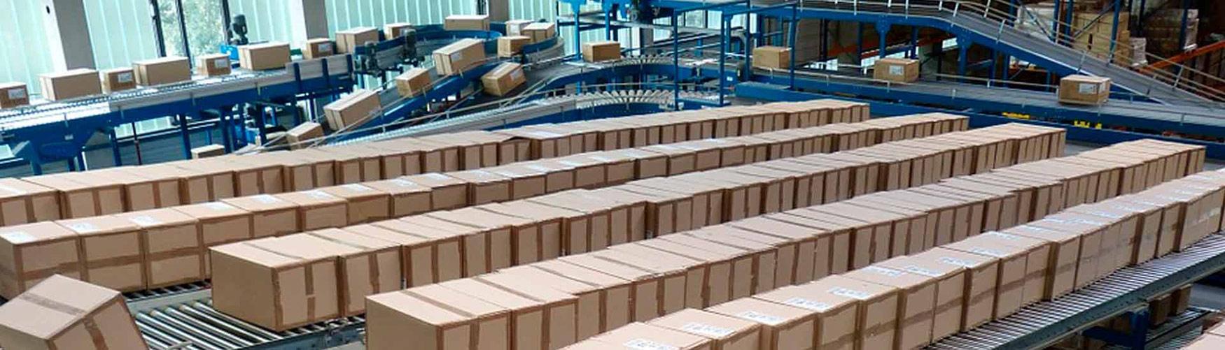 sistemas transportadores de cargas ligeras